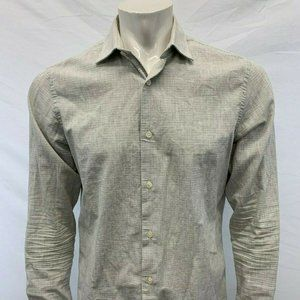 Banana Republic Tailored Slim Fit Shirt Men's M